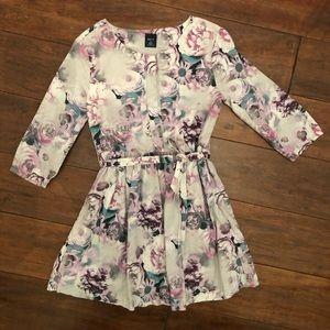 Gap Floral Girls Dress Size S 6/7